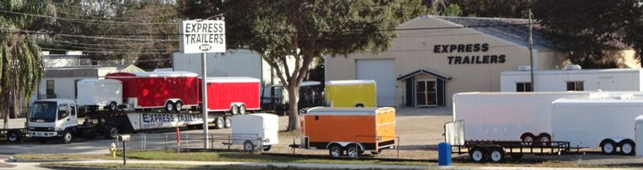 Delivery cutom design enclosed trailers clearwater florida