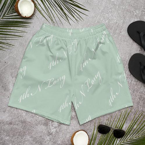 "Mint ""4TH N LONG"" Summer Shorts"