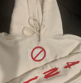 """No Excuses"" Cream Hoodie"
