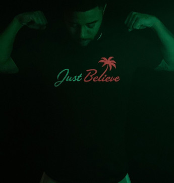 """Just Believe Palm"" Tee"