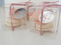 Wedding Macaron Bonnbonniere - A little something different for wedding guests