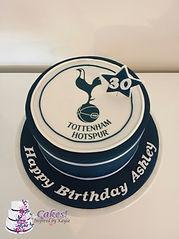 Tottenham Hotspurs Birthday Cake