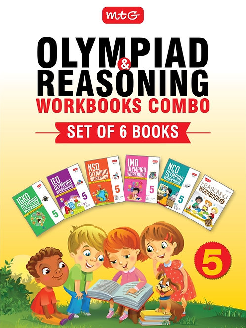 MTG Olympiad Books Combo Class 5