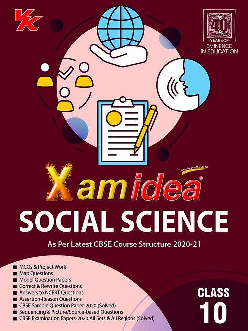 Xam Idea Class 10 Social