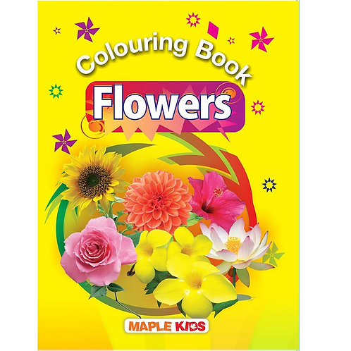 Maple Kids - Colouring Book - Flowers