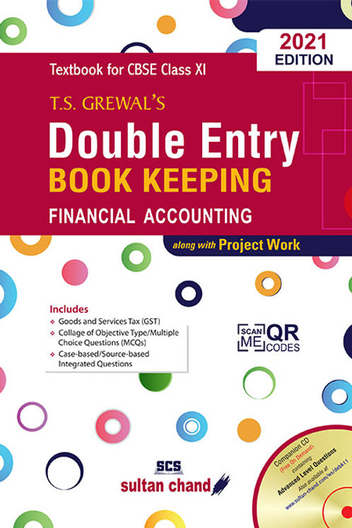 Double Entry Book Keeping Class 11 T.S.Grewal