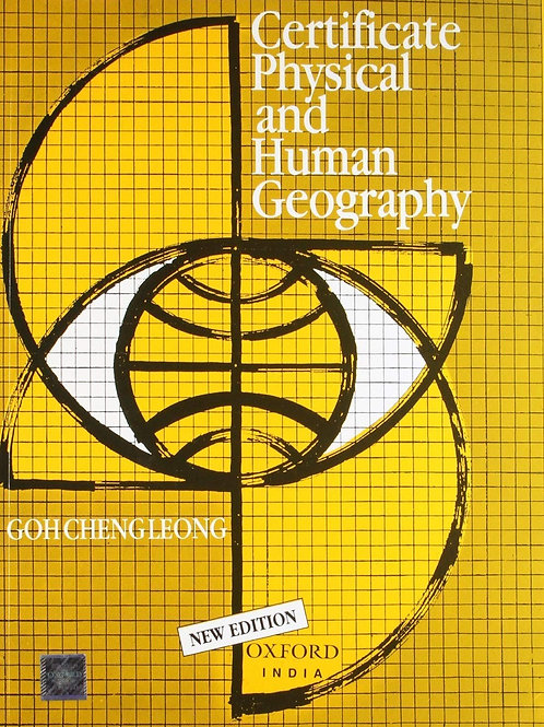 Certificate Physical and Human Geography - Goh Cheng Leong