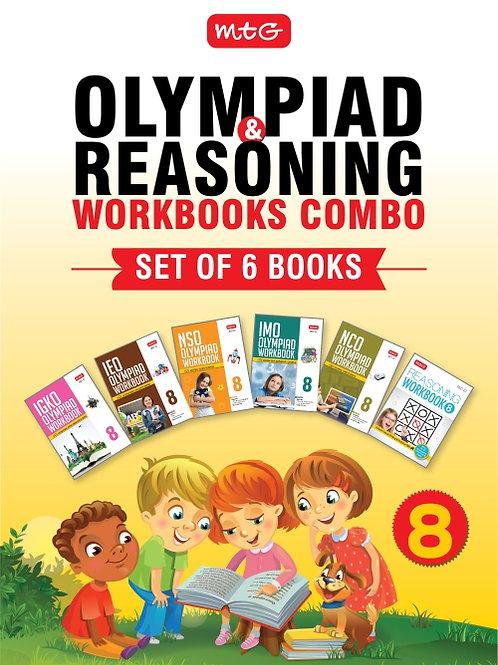 MTG Olympiad Books Combo Class 8