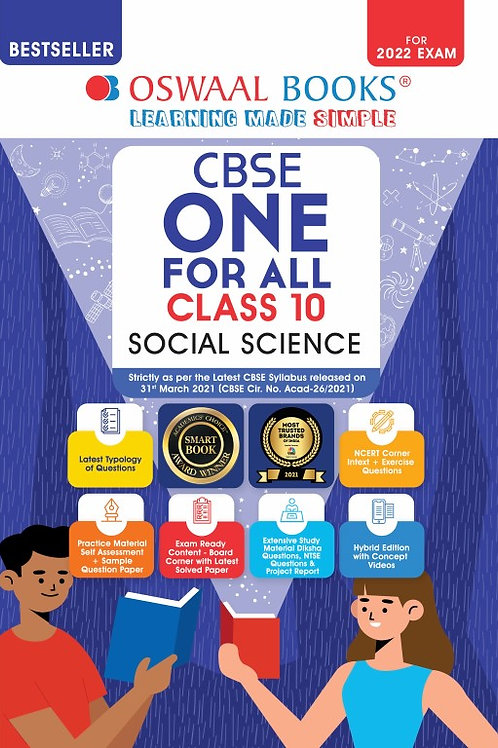 Oswaal One For All Class 10 Social