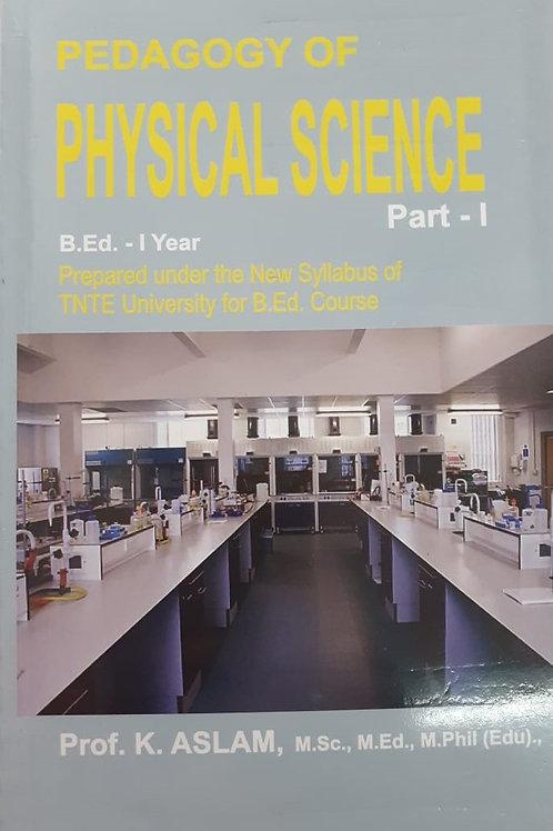 Pedagogy of Physical Science - Everest Publishers