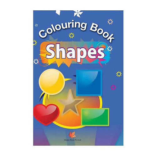 Maple Kids - Colouring Book - Shapes