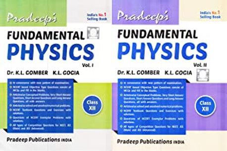 Pradeep's Class 12 Physics (2020-21)