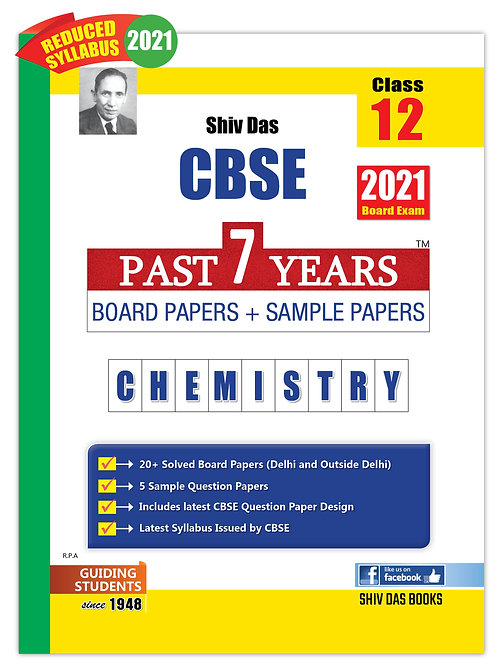 Shiv Das Past 7 Years  Class 12 - Chemistry