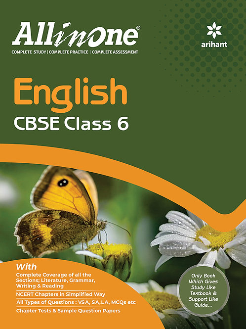 Arihant All in One Class 06 English