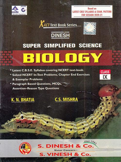 Dinesh Super Simplified Biology Class 9