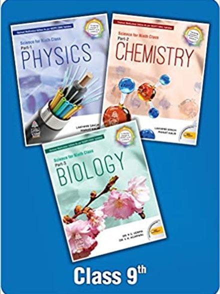 S.Chand Class 9 Science - Lakhmir Singh (Set of 3 Books)