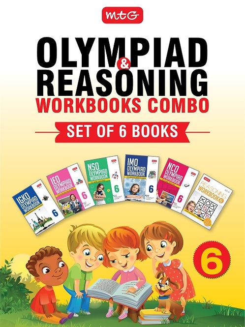 MTG Olympiad Books Combo Class 6