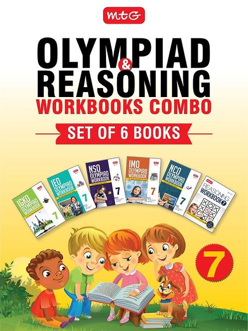 MTG Olympiad Books Combo Class 7
