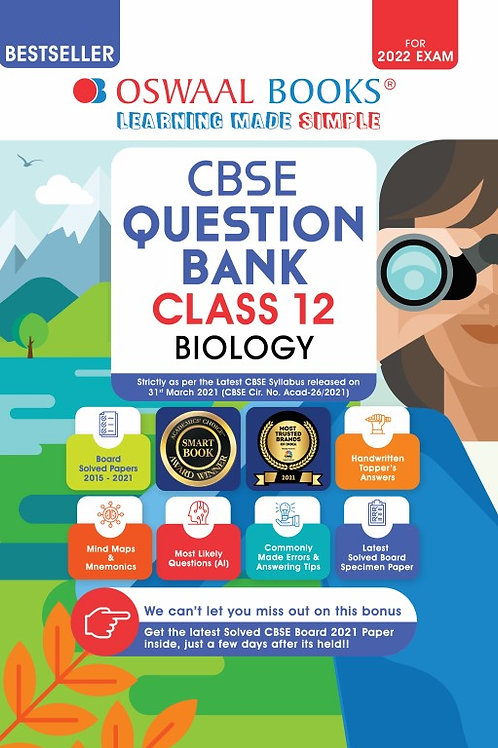 Oswaal Question Bank Class 12 Biology