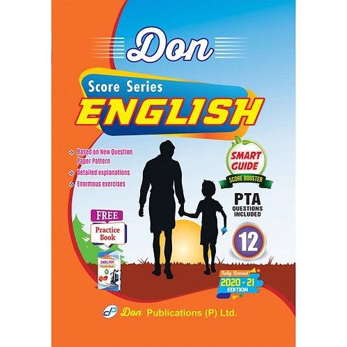 Don English Class 12 Smart Guide Score Series