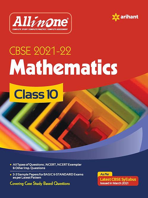 Arihant All in One Maths  Class 10