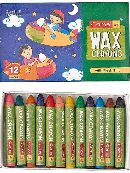 Camlin Wax Crayons 12 Shades