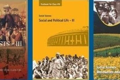NCERT Class 08 Social ( 3 Books )