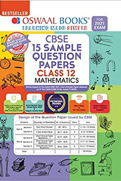 Oswaal Sample Question Papers 12 Maths