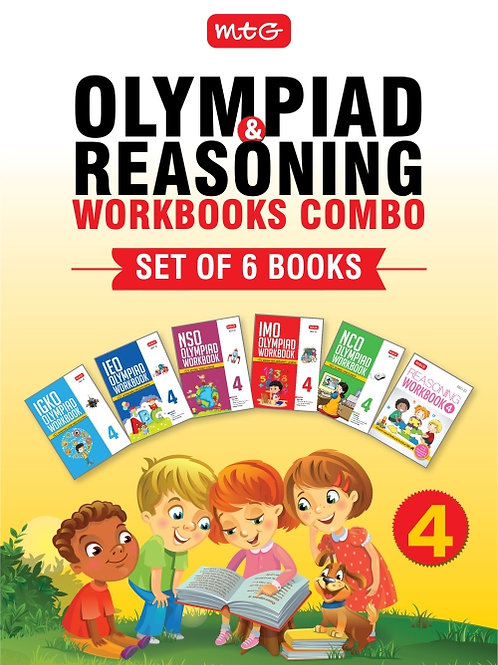 MTG Olympiad Books Combo Class 4