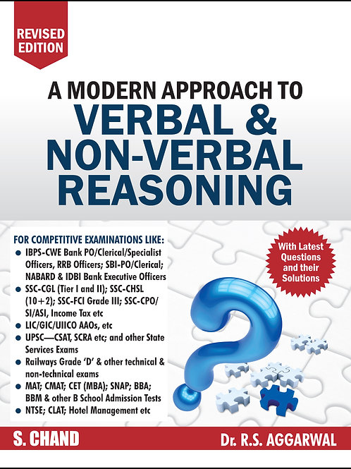 Verbal & Non Verbal Reasoning - R.S.Agarwal