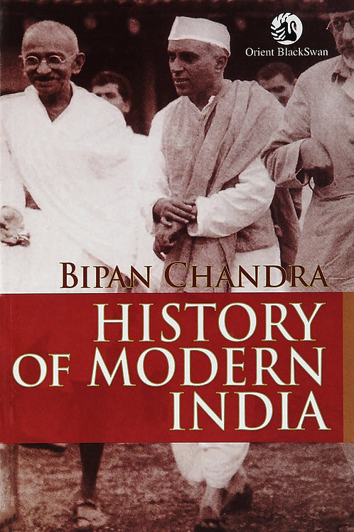 History of Modern India - Bipan Chandra