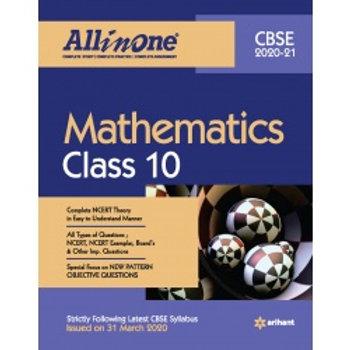 Arihant All in One Class 10 Maths  (2020-21)