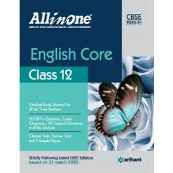 Arihant All in One Class 12 English Core (2020-21)