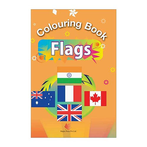 Maple Kids - Colouring Book - Flags