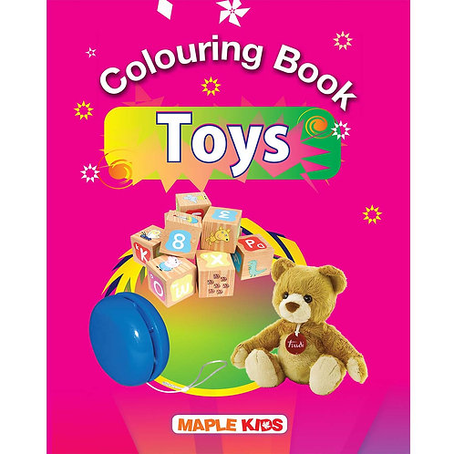 Maple Kids - Colouring Book - Toys