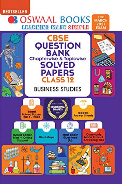 Oswaal Question Bank Class 12 - Business Studies