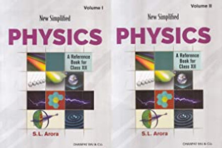 New Simplified Physics Class XII - S.L.Arora (2020-21)