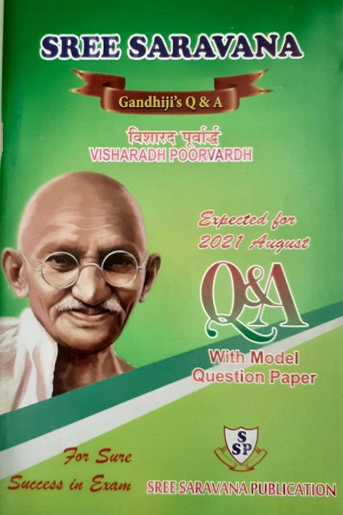 Saravana Q & A Visharadh Poorvardh Aug 2021