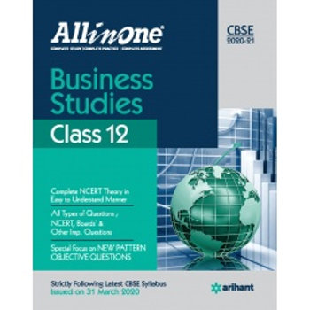 Arihant All in One Class 12 Business Studies(2020-21)