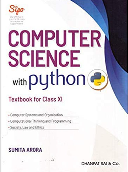 Computer Science Python Class 11 - Sumita Arora