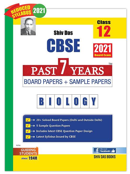 Shiv Das Past 7 Years  Class 12 - Biology