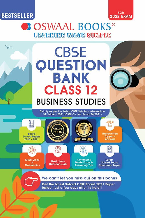 Oswaal Question Bank Class 12 Business Studies