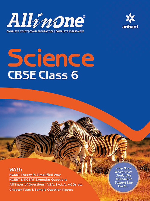 Arihant All in One Class 06 Science