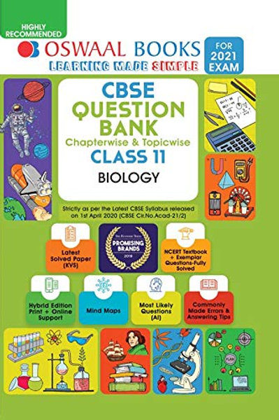 Oswaal Question Bank Class 11 - Biology