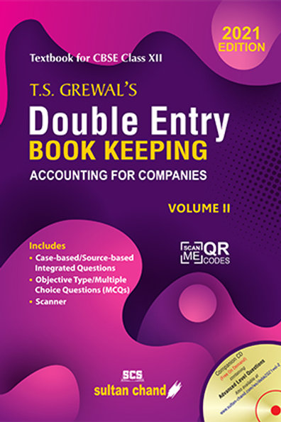 T.S. Grewal's Double Entry Book Keeping Volume 2