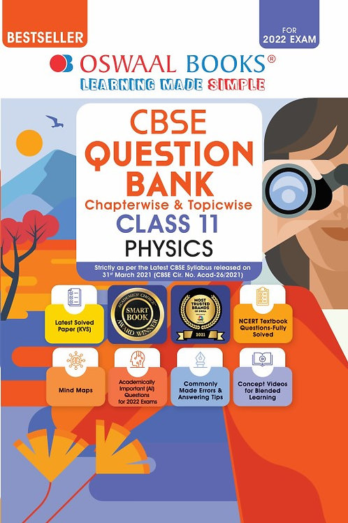 Oswaal Question Bank Class 11 Physics