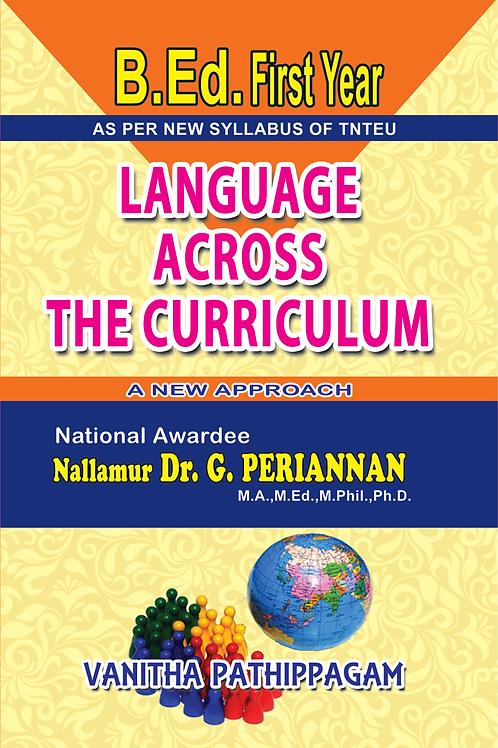 Language Across The Curriculum  - G.Periannan