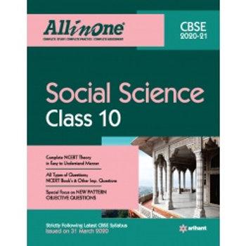 Arihant All in One Class 10 Social  (2020-21)