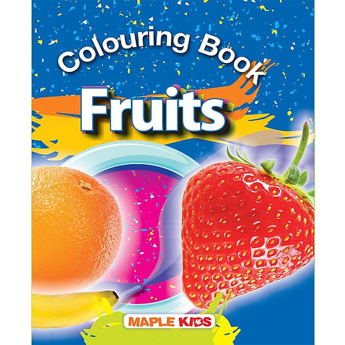Maple Kids - Colouring Book - Fruits