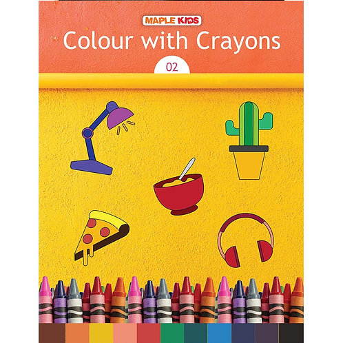 Maple Kids - Colour with Crayons 02